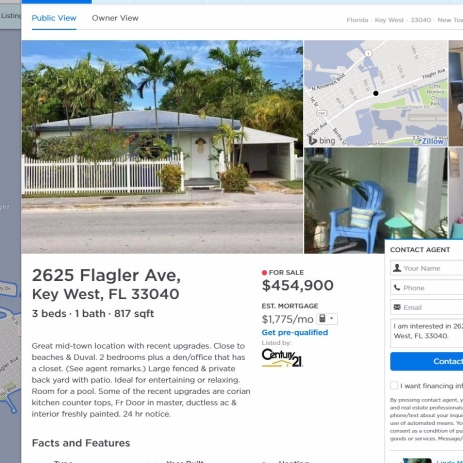 6 sources for finding affordable housing in key west how for Zillow design trends 2017